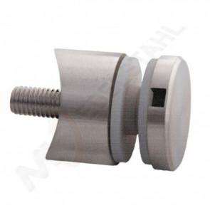 Punktglashalter d30mm, anbau 42,4mm